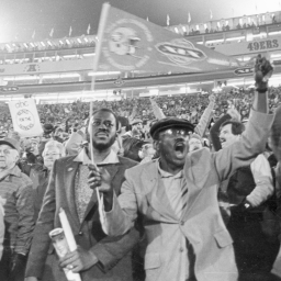 The Stanford Super Bowl: Wooden Bleachers, a Jetpack and Show Biz, 1985-Style