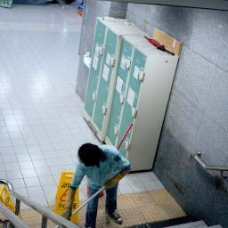 California's Janitors, Security Guards Face 'Inferior Working Conditions'